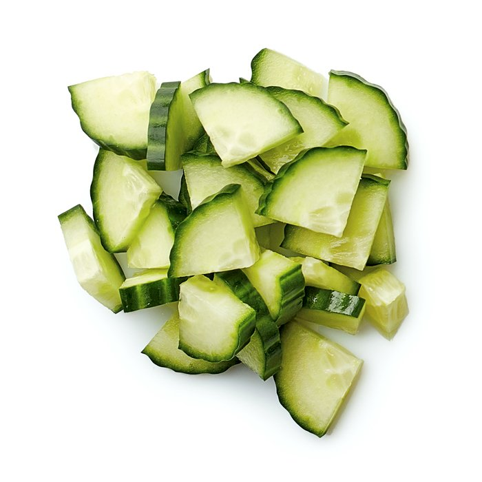 Cucumber Pieces