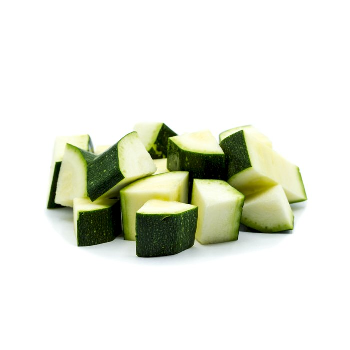 Courgette Cubes