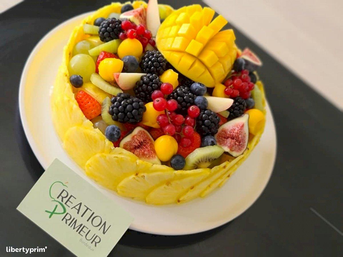 Fruit Basket France Wholesaler - CREATIONS-PRIMEUR | Libertyprim