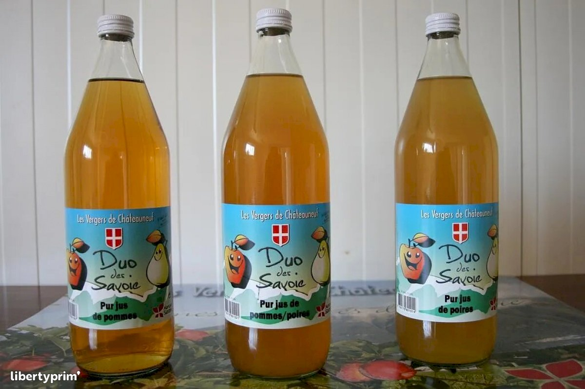 Apple Juice France Conventional Grower - VERGERS-CHATEAUNEUF | Libertyprim