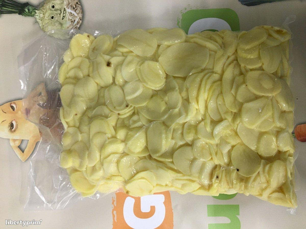 Potato Slices France Fresh Cut Supplier - EPLUCH-LEG | Libertyprim