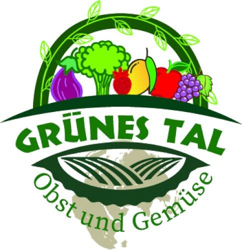 Grünes Tal für Obst und Gemüse