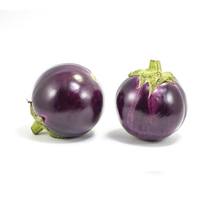 Eggplant Round